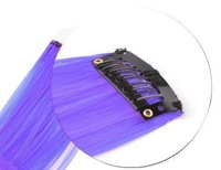 Cheap 24Colors 20Inch Colored Colorful Clip On In Hair Extensions Ombre Hair