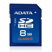 ADATA 8GB  SDHC Class 4 Premium Memory Card SD Card For Digital Cameras/Camcorders/Media Player Free Shipping Wholesale