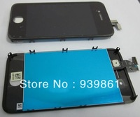 LCD Display Screen+Touch Touch screen Digitizer Assembly For iPhone 4 CDMA Version black,free shipping