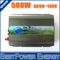 Free Shipping 500W Solar Micro Grid Tie Inverter DC22~50V to AC110V/230V On Grid Inverter for Solar Panel