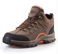 Hot Free shipping spring outdoor hiking shoes Men Women genuine brand sports shoes plus velvet