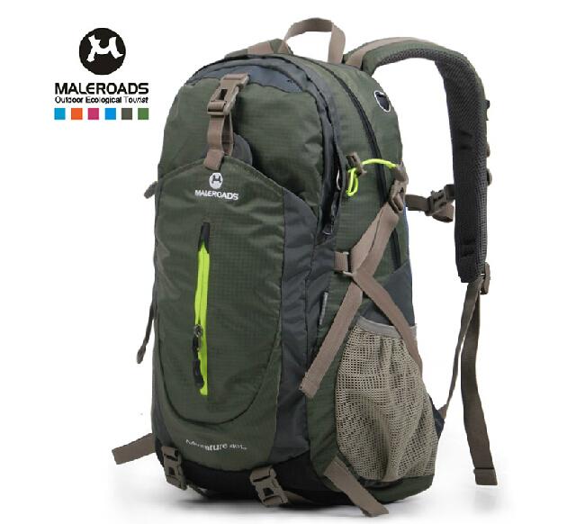 Sac à dos sport maleroads extérieur. sac de sport sac à dos de randonnée pack escalade, montagne, packsack camping sac à dos femme& hommes, 40l