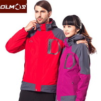 2013 new authentic waterproof and breathable outdoor climbing Jackets Fleece Jackets Mens S0401 piece