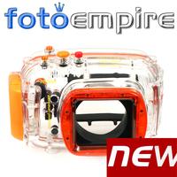 40M 130ft Waterproof Underwater Diving Housing Case For Nikon J1 10mm f2.8 lens DSLR Camera Free Shipping