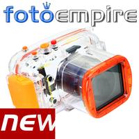40M 130ft Waterproof Underwater Diving Housing Case For Nikon J1 10-30mm lens DSLR Camera Free Shipping