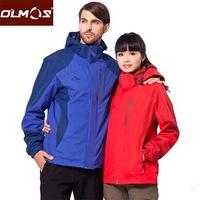 2013 new men's outdoor jacket winter mountaineering essential piece outdoor waterproof breathable jacket S0451