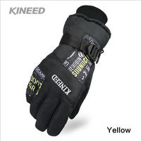 Free shipping!!Winter Ski sport waterproof gloves,thickening cold-proof warm windproof riding gloves,snowboard Motorcycle gloves