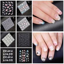 popular nail stickers design
