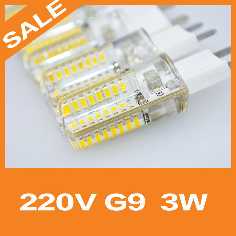 Free shipping AC220V High Power 6W G9 LED Lamp Replace 30W halogen lamp 360 Beam Angle LED Bulb lamp warranty 2 years(China (Mainland))