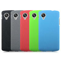 Free Shipping Quicksand Nexus 5 Hard Case Cover Shield For LG Google Nexus 5 +Screen Protector, Premium Thin Matte Shell