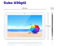 10.1 inch Cube U30GT2 RK3188 Quad Core 1.6GHz 2GB 32GB Android 4.1 HDMI Bluetooth Dual Camera 5.0MP AF  DA0884A1