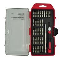 2set/lot 34 in 1 set Micro Pocket Precision Screw Driver Kit Screwdriver cell phone tool repair box Wholesale