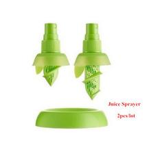 2pcs Lemon sprayer/ fruit spray tool juice juicer fruit squeezer kitchen tools Cooking Tools Hand juicer(China (Mainland))