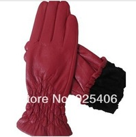 Genuine Leather Screen Touch Gloves Fashion Outdoor Luvas Women's Winter Leather Autumn Warm iglove For Women