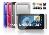 Free shipping!! 9inch tablet PC MTK6572 dual core with SIM card,2G calling function,support Bluetooth&GPS,FM Radio.Metal shell