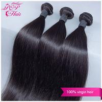 Ali POP hair brazilian virgin hair straight 3pcs lot brazilian virgin hair extension 100% human hair ,no shedding no tangle