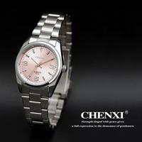 Hot Sale Brand Quartz Watch Full Stainless Steel Women Dress Watches Original Box Gift  Free Shipping 003A