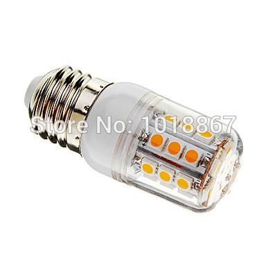 Hot !!! E27/G9/GU10/E14 5W 30xSMD 5050 500LM 3000-3500K Warm White Light LED Corn Bulb ( AC 220-240V / 110v-130v )(China (Mainland))