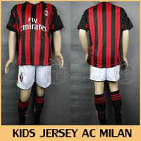 Футбольная футболка для мальчиков BEONE 13 14 AC camisetas KIDS-11