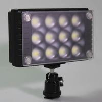 WanSen W12 Camera Led Video Light Lamp DSLR Camera DV Camcorder for CANON NIKON SONY series Lighting 1350Lux Than Z96
