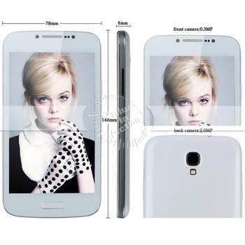 """Unlock Original Z.doxio 5""""highscreen celular phone S4 I9500 Android 4.2 smartphone SC6820 dual sim google Play Store GSM Cameras"""