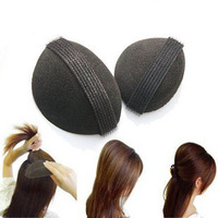 Wig 2 Pad Princess Head Fluffy Hair Maker Clips Sponge Fleabane Heighten Loose Hair Stick Mat High Quality Princess Hair Clip