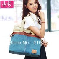 2014 Promotion Women Cross Body Handbags Shoulder Bag For Ladies Retractable Canvas Laptop Messenger Bags Free Shipping