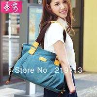 2014 Cross body Handbag Canvas Casual Handbags For Women Wholesale Tote Bag Women Shoulder Bags Free Shipping