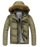 Parkas Down jacket Coat russian hot sale men's best quality coat fashion winter clothes jacket BIG SIZE Men's  eiderdown outwear