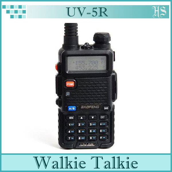 New Type BAOFENG UV-5R Two Way Radio Dual Band CB Radio Transceiver /Handheld Walkie Talkie In Two Way Radio(China (Mainland))