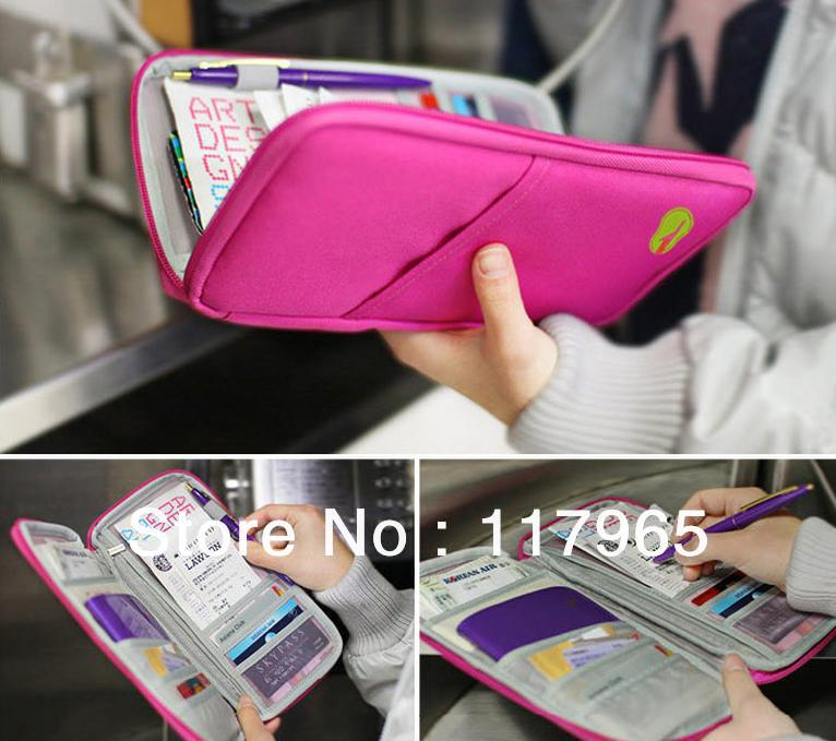 Min.order is $10 (mix order) HOT fashion Travel Journey Fabric Passport ID Card Holder Case Cover Wallet Purse Organizer DY66(China (Mainland))