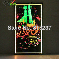 Free shipping 2013 new products led writing board led light/magic led display board/advertising board/Made in China