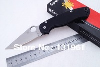 TOP SELL! Spyderco C81GP2 Rescue Folding Knives,C81 CPM- S30V Blade G10 Handle Camping Survival Pocket Knife.