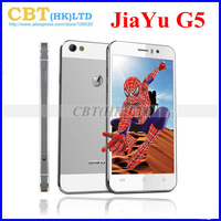 "in stock MTK6589T Jiayu G5 Stainless steel body quad core phone 2GB +32GB 4.5"" IPS Gorilla glass screen OGS Android 4.2 Phone 3G"