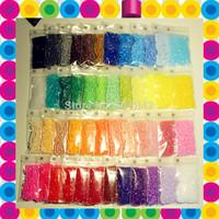 mini 2.6mm Hama Beads ~ Fuse Beads ~ Perler Beads 28 color luxury Set 14000 pcs DIY educatian toy craft +Free shipping