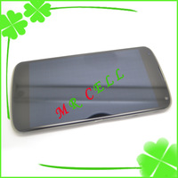 100% Original Tested For LG Nexus 4 e960 LCD Display +touch Screen Digitizer Assembly + frame free shipping