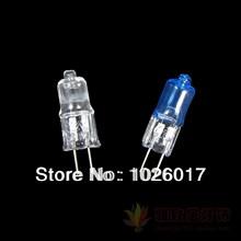 10pcs 12V G4 20W Energy Saving Halogen Light Bulbs Lamp JC Type 12-volt Bi-Pin, Clear, pure white yellow(China (Mainland))