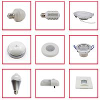 3W human sensor bulb 180-220v 27E white light tube led sensor light/lamp