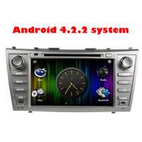 DHL EMS Rockchip 3066 Cortex A9 dual-core Pure Android 4.2 DVD for camry car multimedia