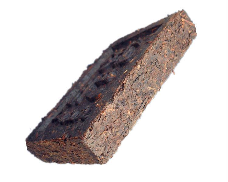 pu213 Pu er tea aged old brick puerh Menghai losing weight puer tea kaigu old brick