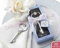 Free Shipping 200box Blue Heart Bottle Opener WJ006/E Party Crafts WJ006/D