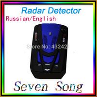NEW 2014 car radar car detector  Radar Detector  16 Band Anti-Police Radar Detector X K NK Ku Ka  VG-2 V7 model LED display