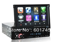 """7"""" Touch screen car audio gps 1 din for universal car AL-8007"""