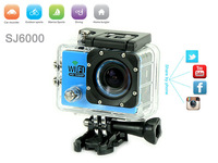 "SJ6000 WiFi Sport Action Camera 2.0""LCD 1080P FHD 30M Waterproof Go Pro Hero 3 Sport DV Better than SJ4000 WIFI Free Shipping"