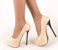 Black red Wedding shoes Big women size 11 heels 5 inch  platform high heels women pumps shoes 2014 free shipping