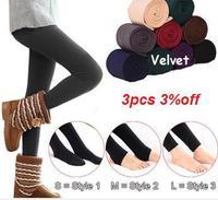 New Leggings For Women Arrival Casual Warm Winter Faux Velvet Legging Knitted Thick Slim Leggings Super Elastic