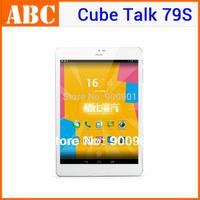 GPS tablet pc 7.9 inch Cube U55gts Talk79S Mini Pad MTK8312 Dual Core 1.3GHz Android 4.2 Bluetooth GPS WCDMA OTG 3G phone call