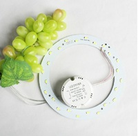 1PC/LOT 5W 12W 15W 18W LED PANEL Circle Light AC180-265V SMD5730 LED Round  Ring Ceiling board the circular lamp board