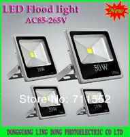 New type 4pcs/lot LED Floodlights 10W 20W 30W 50W RGB LED Flood Light Warm / Cool white / RGB Remote Control spotlight 85-265V