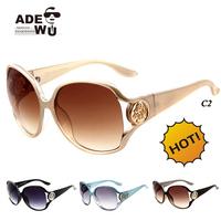 Good Quality Luxury Baroque Sunglasses Women Brand Designer Big Size Famale Sun Glasses oculos de sol feminino gafas